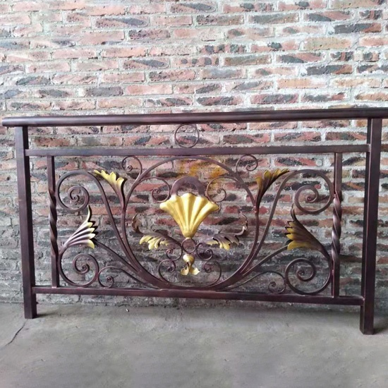 Wrought Iron Terrace Railing