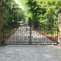 Wrought Iron Driveway Gates For Sale
