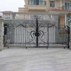 High-end Decorative Wrought Iron Gates