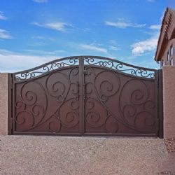 Wrought Iron Gate For Yard Or Garage