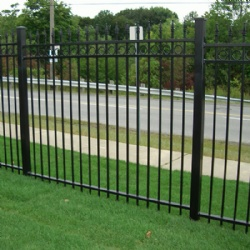 Simple Wrought Iron Fence