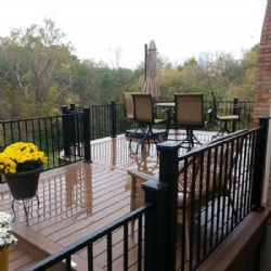 Wrought Iron Fence For Terrace Or Roof