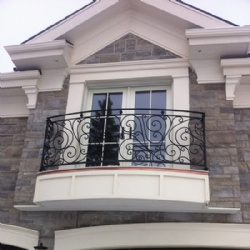 European Syle Window Wrought Iron Railing